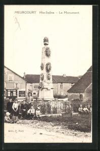 AK Meurcourt, Le Monument