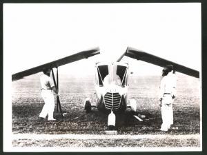 Fotografie Keystone, Ansicht Cleveland, Flugauto Waterman Arrowbile, Auto-Flugzeug