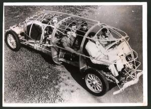 Fotografie Keystone, Ansicht Los Angeles - Hollywood, America's Car of Tomorrow