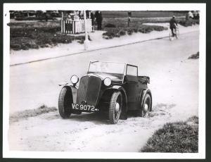 Fotografie Auto-Ausstellung London, Auto Rover Scarab Cabrio