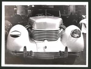Fotografie Auto-Ausstellung London, Auto Cord, Luxus PKW am Messestand