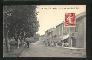 AK Lapalud, Le Cours, Partie Sud