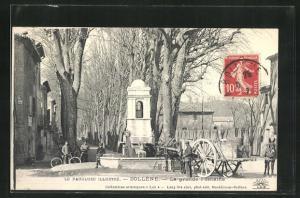 AK Bollene, La grande Fontaine