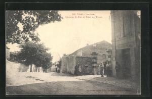 AK Visan, Quartier St-Eloi et Hotel des Postes