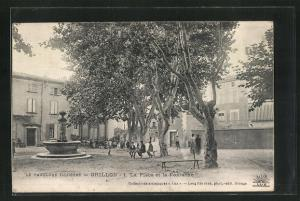 AK Grillon, La Place et la Fontaine