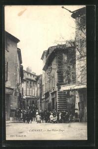 AK Cadenet, Rue Victor-Hugo, Strassenpartie