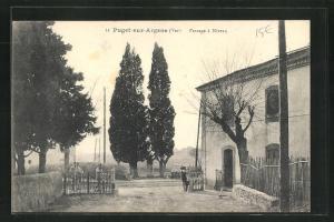 AK Puget-sur-Argens, Passage a Niveau