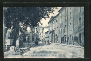AK Draguignan, Rue Nationale et Palais de Justice