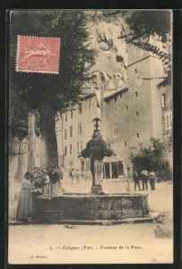 AK Cotignag, Fontaine de la Plage
