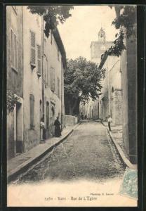 AK Nans, Rue de L`Eglise, Strassenpartie
