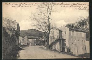 AK Labeaume Cendras, Entrée du Village, Strassenpartie