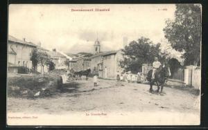 AK Bernécourt, La Grande-Rue