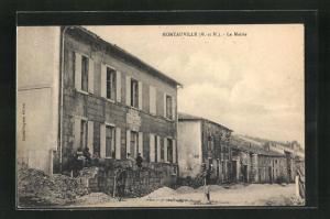 AK Montauville, La Mairie