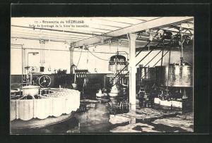 AK Vezelise, Brasserie, Salle de Soutirage de la Biére en bouteilles