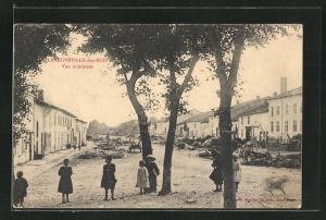 AK Laneuveville-aux-Bois, Vue interieure