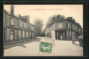 AK St-Benin-D'Azy, Place de la Mairie