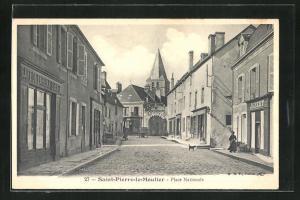 AK Saint-Pierre-le-Moutier, Place Nationale