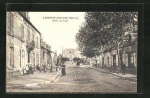 AK Lucenay-Les-Aix, Place du Pont