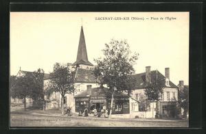 AK Lucenay-Les-Aix, Place de l'Eglise