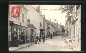 AK Pouilly-S /-Loire, La Grande Rue