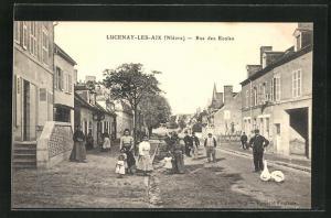 AK Lucenay-Les-Aix, Rue des Ecoles