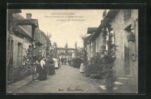 AK Moulins-Engilbert, Fetes du Comice du 12 Septembre 1909
