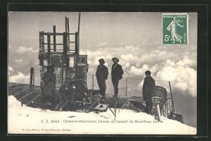 AK Mont-Blanc, Chamonix-Observatoire Janssen au Sommet, Observatorium