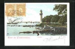 AK Constantinople, Fanaraki, Leuchtturm