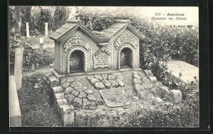 AK Asnieres, Cimetieres des Chiens, Hundefriedhof