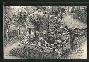 AK Asnieres, Cimetiere des Chiens, Friedhof für Hunde
