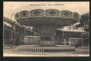 AK Manège Electrique - Marc Berniquet, Elektrisches Karussell, Jahrmarkt