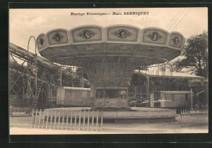 AK Manège Electrique - Marc Berniquet, Karussell, Volksfest, Jahrmarkt, Kirmes
