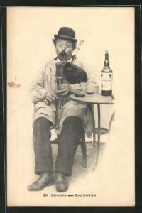 AK Cornemuseux Bourbonnais, Sackpfeifespieler