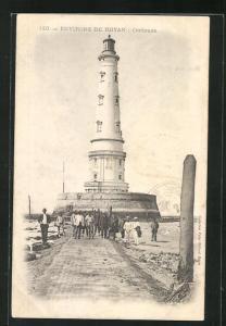AK Cordouan, Blick auf den Leuchtturm