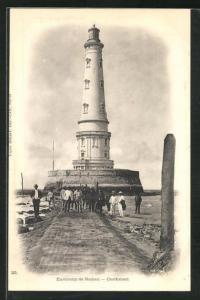 AK Cordouan, Herren vor Leuchtturm