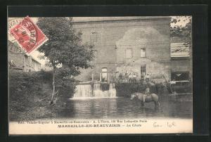 AK Marseille-en-Beauvaisis, La Chute