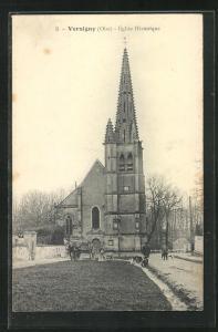 AK Versigny, Eglise Historique