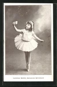 AK Junge Balletttänzerin Lorenza Bijou