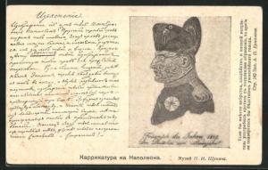 AK Metamorphose Napoleon aus Menschen, Triumph des Jahres 1819