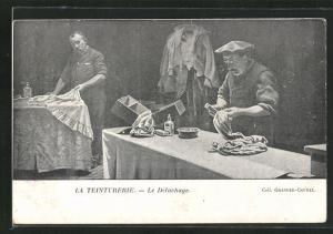 AK La Teinturerie, Le Detachage, Die Ablösung