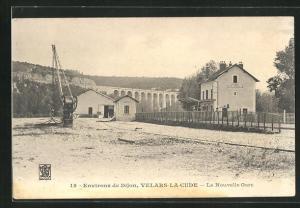 AK Velars-la-Cude, La Nouvelle Gare, Bahnhof