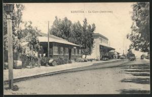 AK Kenitra, La Gare, Bahnhof