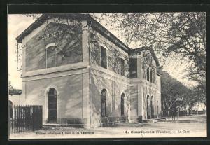 AK Courthezon, La Gare, Bahnhof