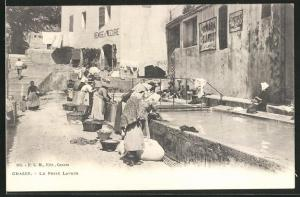 AK Grasse, Le Petit Lavior, Waschfrauen