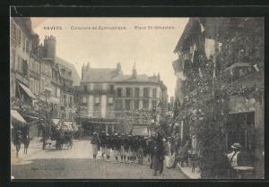AK Nevers, Concours de Gymnaistique, Place St-Sebastien