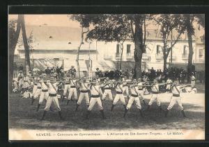 AK Nevers, Concours de Gymnastique, L'Alliance de Ste-Savine, Le Báton