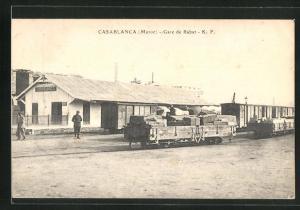 AK Casablanca, gare de Rabat, Bahnhof