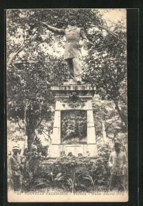 AK Noumea, Statue Amiral Oiry