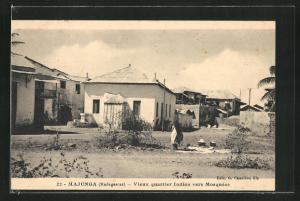 AK Majunga, Vieux quartier Indien vers Mosquées