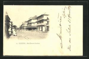 AK Cayenne, Rue Chaussée Sartines